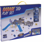 police garage incl. 5 vehicles blue