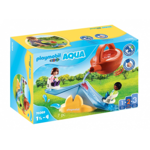 PLAYMOBIL 1, 2, 3 - Water seesaw with watering can