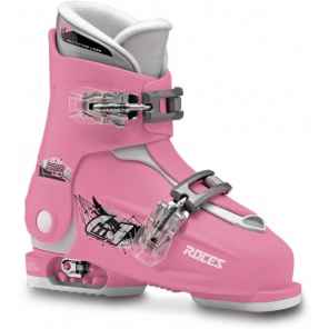 Roces ski boots Idea Up girls pink/white size 30-35