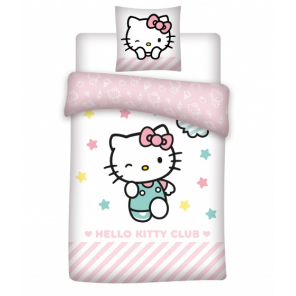 Aymax duvet cover Hello Kitty 140 x 200 cm polyester