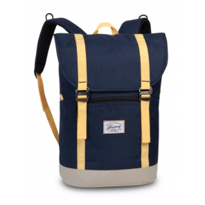 Bestway backpack 21 litres navy/yellow