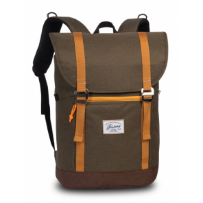 Bestway backpack 21 litres army green/yellow