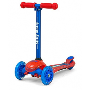 Milly Mally kinderstep Zapp Scooter Redcom junior red/blue