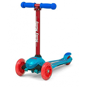 Milly Mally kinderstep Zapp Scooter Coral junior blue/red