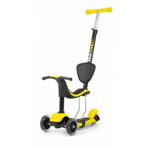 Milly Mally Little Star 3-in-1 step Junior Foot brakes Yellow
