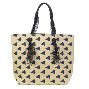 Beco beach bag cotton/polyester beige