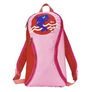 Beco backpack Sealifegirls 10 liters pink/red