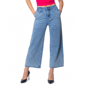 Only Women Jeans WH7-SILVYA_LIFE_HW_WIDE_CRP_236 (blue)