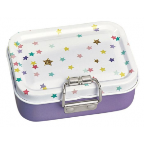 Moses mini-burobox stars girls steel purple/white 7-piece