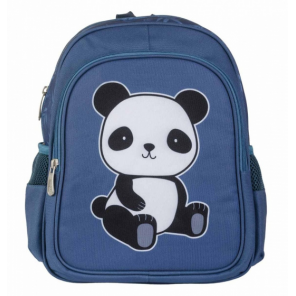 A Little Lovely Company backpack Panda junior 13 litres polyester blue