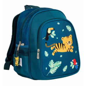 A Little Lovely Company backpack Jungle junior 13 litres polyester green