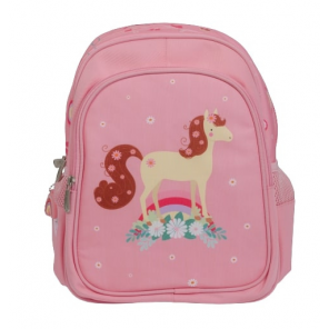 A Little Lovely Company backpack Horse girls 13 litres polyester pink