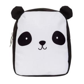 A Little Lovely Company backpack Panda junior 5.5 litre polyester black/white