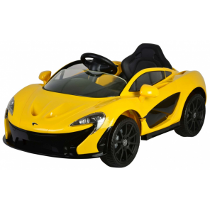 McLaren P1 battery vehicle with remote control 12V yellow