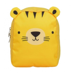 A Little Lovely Company backpack Tiger junior 5.5 litre polyester yellow
