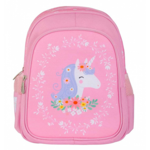 A Little Lovely Company backpack Unicorn girls 13 litres polyester pink