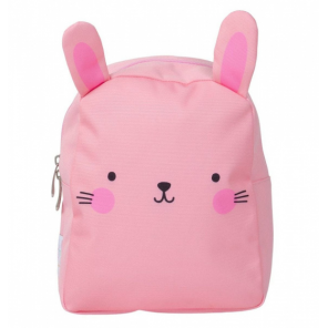 A Little Lovely Company backpack Rabbit girls 5.5 litre polyester pink