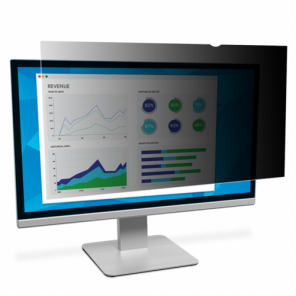 3M Privacy Filter PF235W9B f Widescreen-Monitor with 23.5