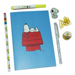 Blueprint Collections writing set Snoopy7-piece