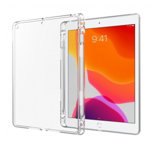 Ultra Clear Antishock Case Gel TPU Cover for iPad 10.2 2019 transparent