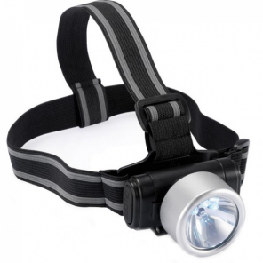 XD Collection everest headlamp 7.3 cm ABS silver/black