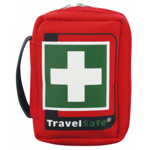 TravelSafe First aid kit Scout 10.5 x 6.5 cm polyester red 19-piece