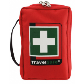 TravelSafe First aid kit Tour 18 x 12 cm polyester red 59-piece
