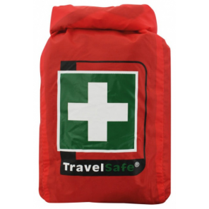 TravelSafe First aid kit Waterproof 15 x 11 cm polyester red 45-piece