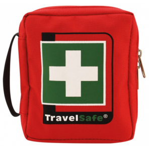 TravelSafe First aid kit Basic 12 x 18 cm polyester red 25-piece