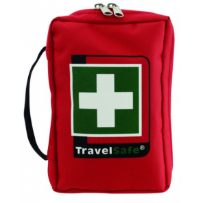 TravelSafe First aid kit Runner polyester red 33-piece