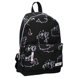 backpack Pusheenthe cat 10 litres polyester black/white