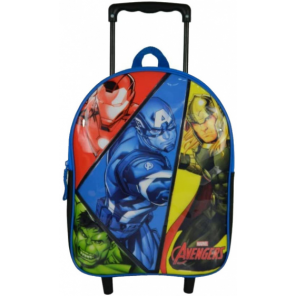 Bagtrotter backpack Avengers boys 31 cm polyester blue/black