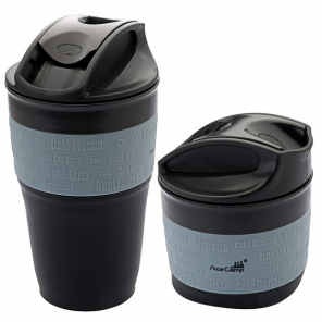 AceCamp collapsible beaker silicone 350 ml black