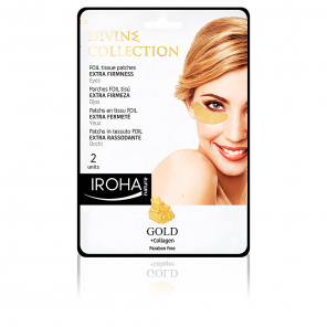 Iroha GOLD tissue eyes patches extra firmness 2 pcs
