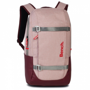 Bench backpack 18 x 29 x 48 cm polyester pink