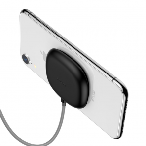 Baseus Suction Cup Wireless Charger Qi Charger with Suckers (WXXP-01) black