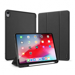 DUX DUCIS Domo Tablet Cover with Multi-angle Stand and Smart Sleep Function for iPad Air 2020 black (no Smart Sleep function)