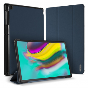 DUX DUCIS Domo Tablet Cover with Multi-angle Stand and Smart Sleep Function for Samsung Galaxy Tab S5e T720 T725 blue