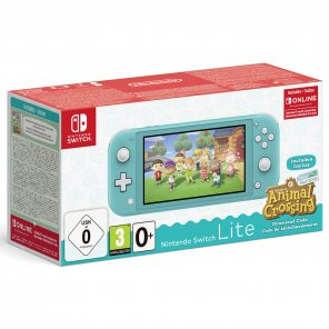 Nintendo Switch Lite Turquoise incl. Animal Crossing
