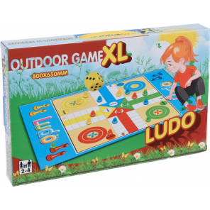 Free and Easy play mat ludo 80 x 65 cm