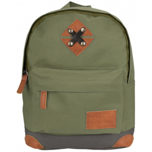 Abbey backpack 28 x 20 x 10 cm 5.5 litres polyester green