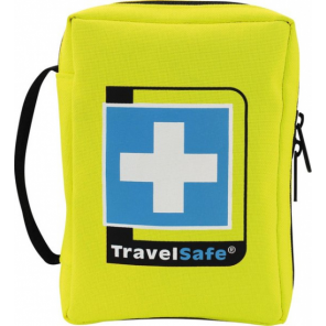 TravelSafe First aid kit Globe 12 cm polyester yellow 69-piece