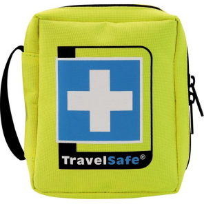 TravelSafe First aid kit Sterile 12 cm polyester yellow 21-piece