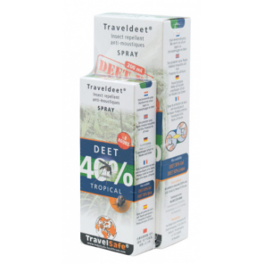TravelSafe family pack Deet 260 ml 2 pieces