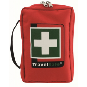 TravelSafe First aid kit World Tour 12 cm polyester red 73-piece