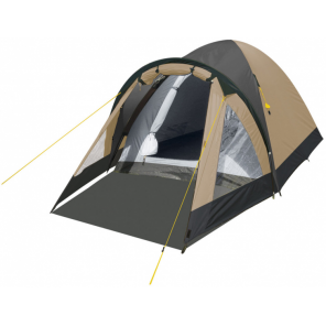Eurotrail dome tent Ontario 310 x 260 x 150 cm polyester beige