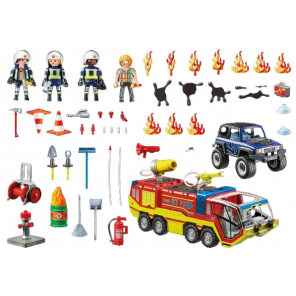PLAYMOBIL City Action - Fire fighter with car (70557)