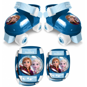 Disney roller skates with protection Frozen 2blue size 23-27