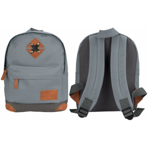 Abbey backpack 28 x 20 x 10 cm polyester grey 5.5 litres