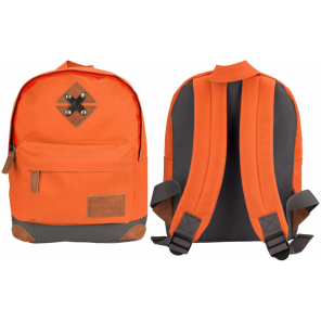 Abbey backpack 28 x 20 x 10 cm polyester orange 5.5 litres